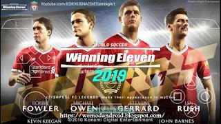 Download Winning Eleven 10 AOKI SAMURAI Mod WE 19 PS4 by Edie Kusnaedie