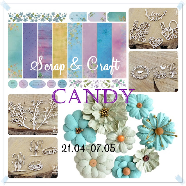 Scrap and Craft Candy - May 7th