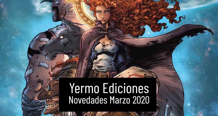 Yermo Ediciones: Novedades Marzo de 2020
