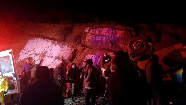 Sucre: Nuevo accidente de bus en Qhochis dejó un muerto y 19 heridos (ver vídeo y fotos)