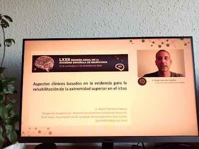 Ponencia de la Reunión Anual de la Sección de Neuroterapia ocupacional
