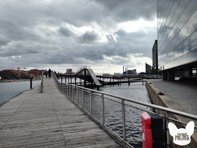 procházka kolem řeky kodaň