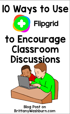 Flipgrid is a great way to generate discussions in class through video, especially in distance learning settings.  Here are some different ways that teachers can use this platform with their students.