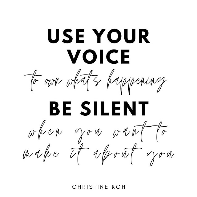 Quote from Christine Koh