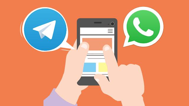 Perbedaan paling mendasar Telegram dengan WA