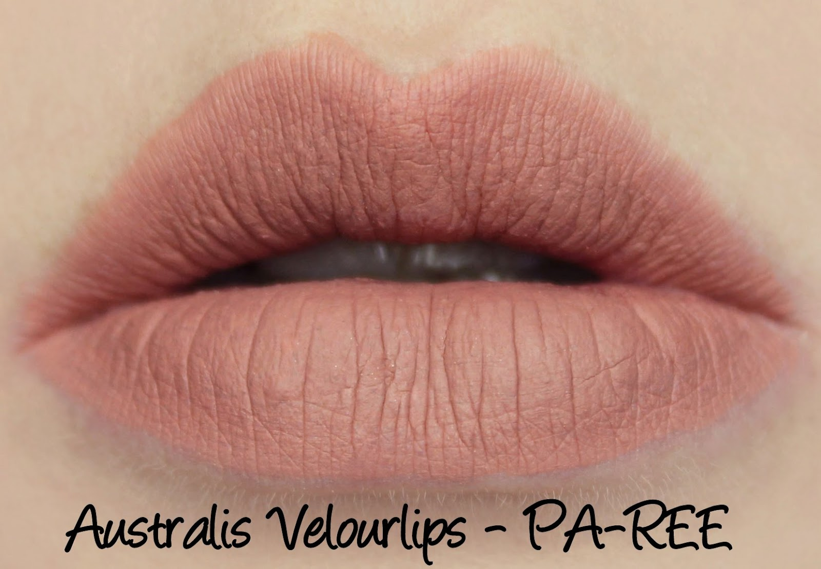 Australis Velourlips Matte Lip Cream - PA-REE Swatches & Review