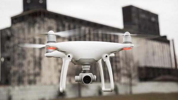 koleksi gambar dari drone