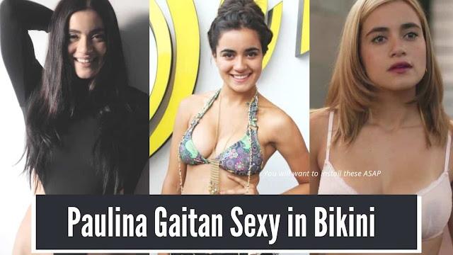 Paulina Gaitan Sexy in Bikini Pictures