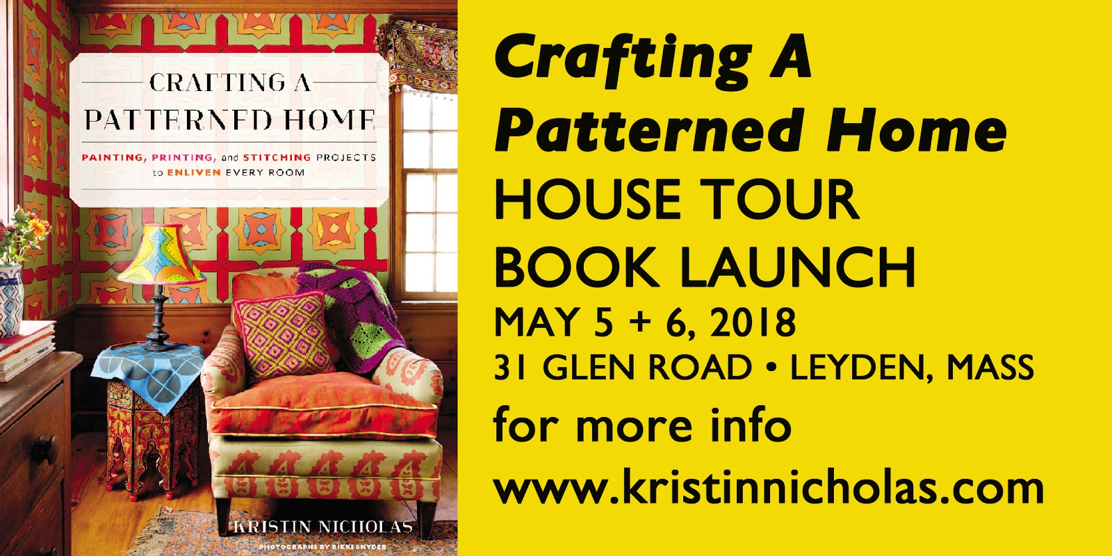Getting Stitched on the Farm: Big Announcement #1 from Kristin Nicholas