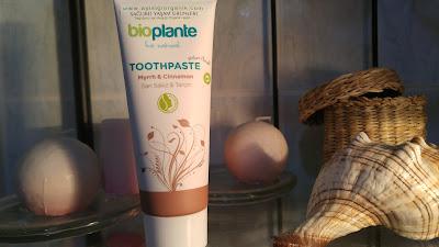 bioplante organik diş macunu
