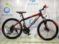 tengah pacific invert 24 inci junior mountain bike