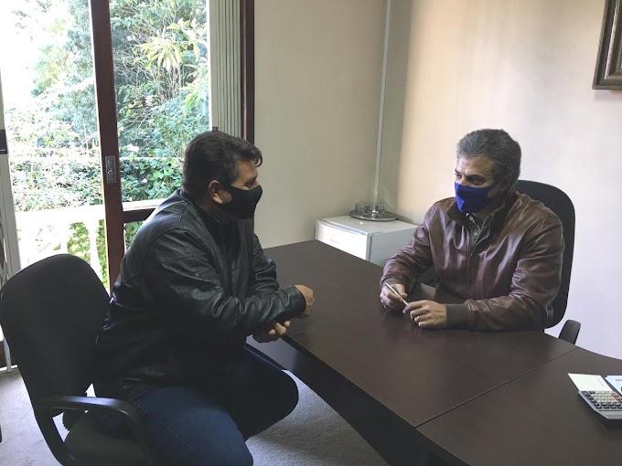Eleições 2022: Oliboni se encontra com o ex-governador Beto Richa