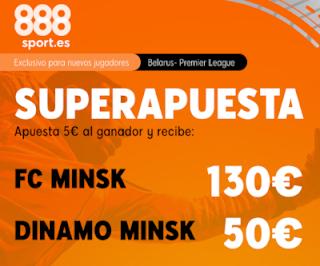 Superapuesta 888sport liga Belorrusia Minsk v Dinamo Minsk 28-3-2020