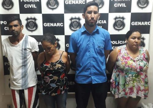 """Águas Lindas: Presa em flagrante """"família do tráfico"""""""