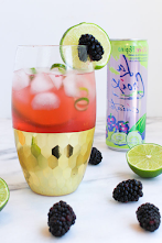 Summer Drink Blackberry Lime Fizz