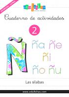 Cuadernillo de sílabas para aprender a leer y escribir