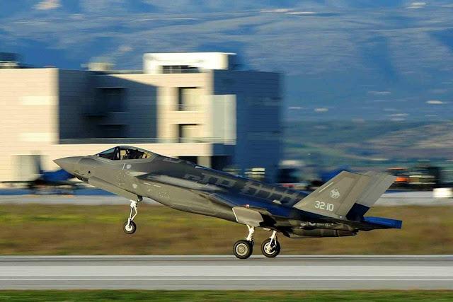 Piloti aeronautica F-35 500 ore volo