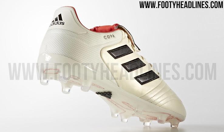 best sneakers 7c6d5 d0e25 Die Limited-Edition Adidas Copa Gloro 17.2 Champagne Schuhe werden morgen  veröffentlicht. +1