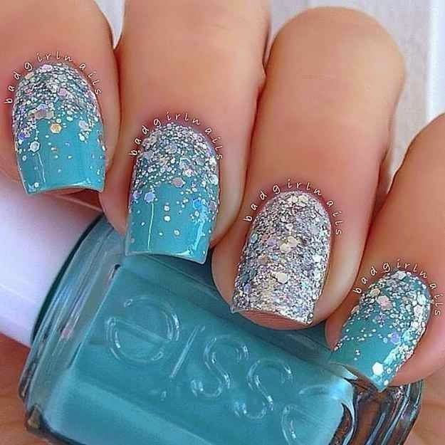 Cool Amazing Frozen Nails Art