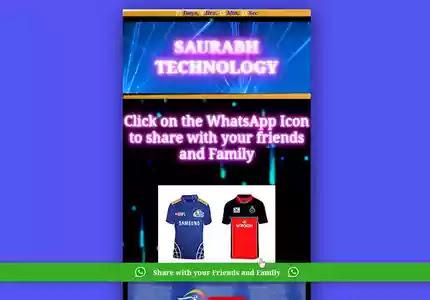 How To Create IPL Wishing Website