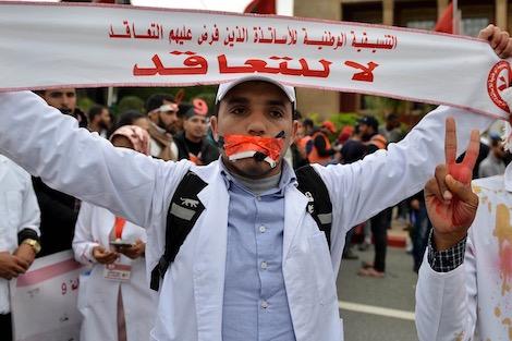 "taroudant press : انتقادات تلاحقُ إضراب ""أساتذة التعاقد"" .. هدرٌ للتعليم ومردود عقيم"