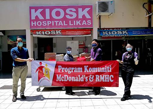 McDonald's Malaysia Hargai Warga Frontliner Perubatan