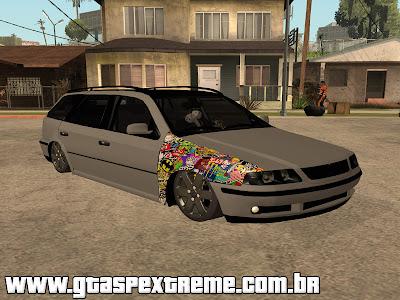 Vw Parati G3 + R17 + Fixa para GTA San Andreas