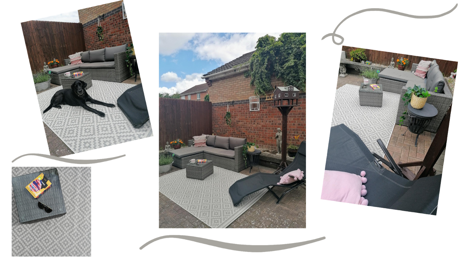 Turning my garden into an outdoor room