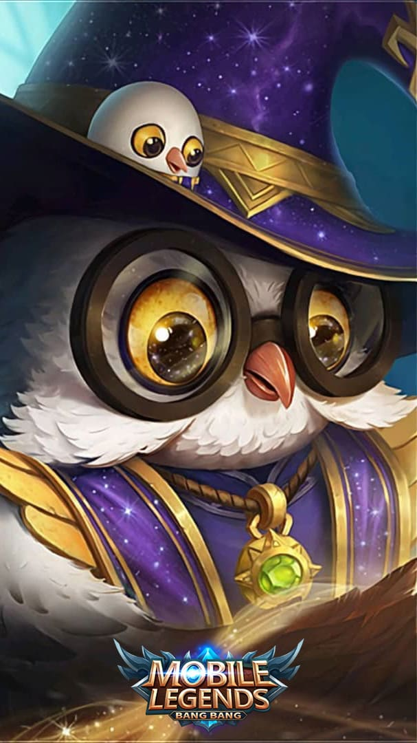 Wallpaper Diggie Constellation Skin Mobile Legends HD for Android and iOS