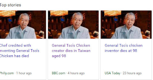 Creators of the Big Mac & General Tso's Chicken have died  this week both aged 98