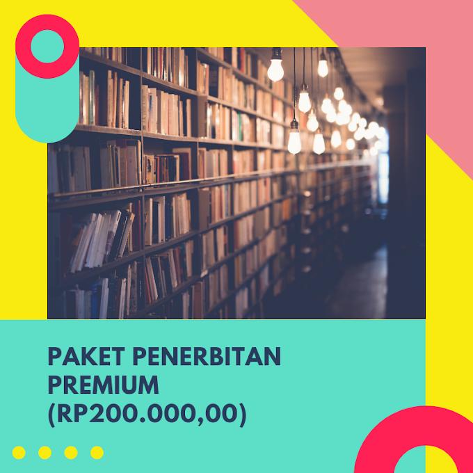 Paket Penerbitan Premium (Rp 200.000,00)