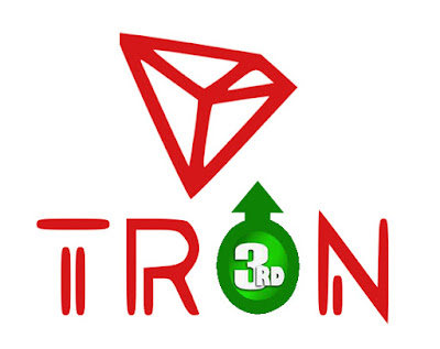 TRON TRX Climbs on 3rd Rank in China