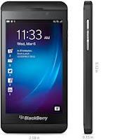 Harga BlackBerry Z10 Oktober 2013