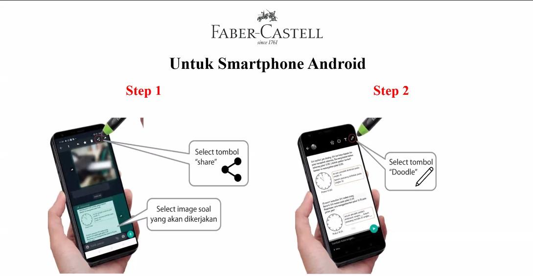 step stylus faber-castell