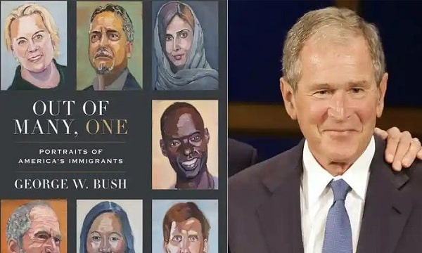 Former US President George W. Bush's New Book Has Come to Light
