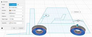 Extrude Forklift Wheels