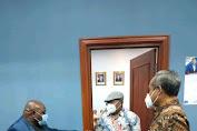 Ketua Fraksi Demokrat MPRI RI BKH menerima Natalis Pigai terkait Otonomi Khusus Papua