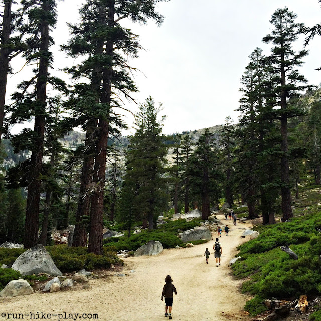 Angora Lakes Resort trail