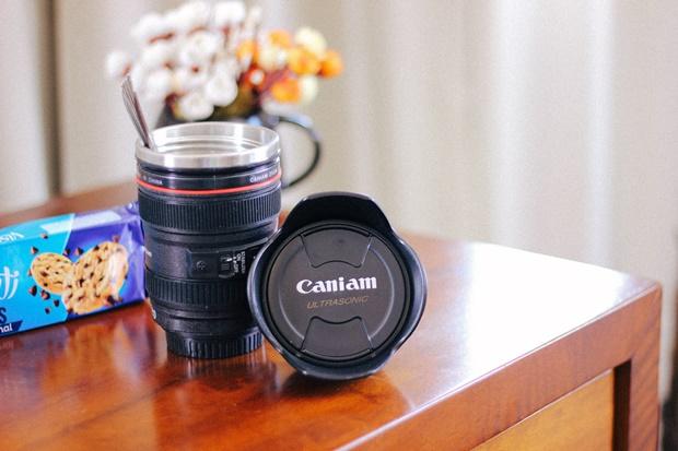 Copo lente de câmera, Rosegal, mug, fun mud, funny mug
