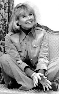 Doris Day durante entrevista em 1976 para o livro 'Doris Day: Her Own Story', escrito por A.E. Hotchner — Foto: Associated Press