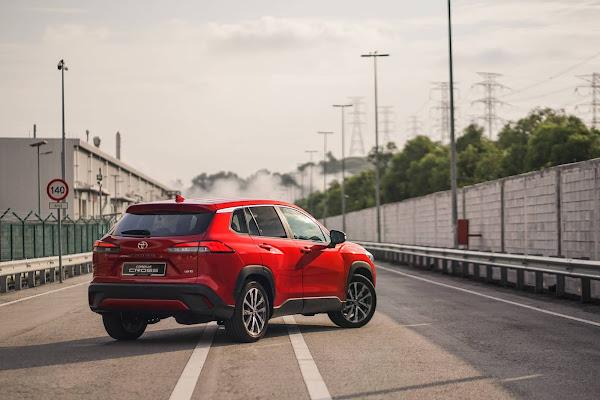 Toyota Corolla Cross substituiu com sucesso o C-HR em mercados asiáticos