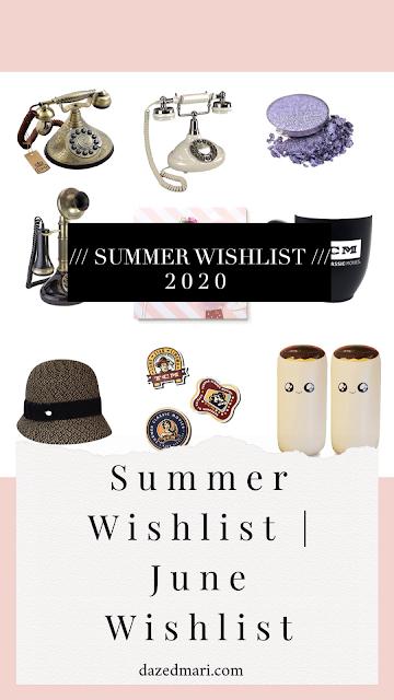 summer wish list, gift guide, anti-haul