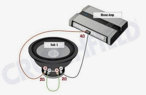 woofers wiring diagrams for subwoofer wiring diagrams amplifiercircuits com