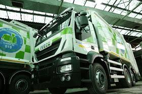 109 nuevos camiones de GNC para las basuras dentro de la nueva estrategia de residuos