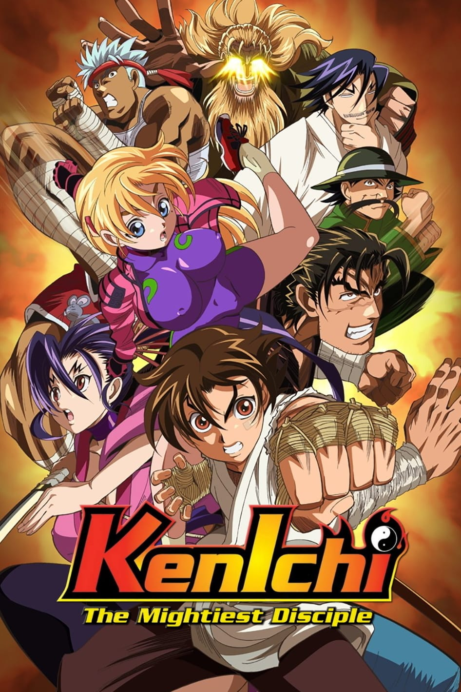 Kenichi: The Mightiest Disciple Anime Completo Latino 720p