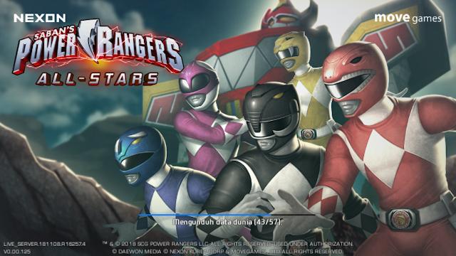 Spesifikasi Game Android Power Ranger : All Stars Seru dan Santai!