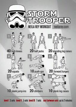 Rutinas de ejercicios de super héroes