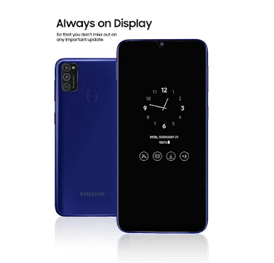 هاتف Galaxy M21, samsung, انواع هواتف سامسونج, احدث اجهزة سامسونج 2020, احدث اصدارات سامسونج واسعارها, samsung galaxy, انواع هواتف سامسونج القديمة, اخر اصدارات سامسونج 2020, افضل هواتف سامسونج 2020