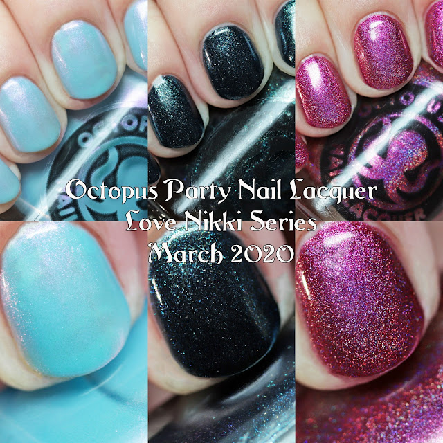 Octopus Party Nail Lacquer Love Nikki Series March 2020
