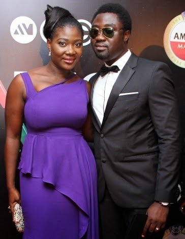 Image result for mercy johnson husband ex wife
